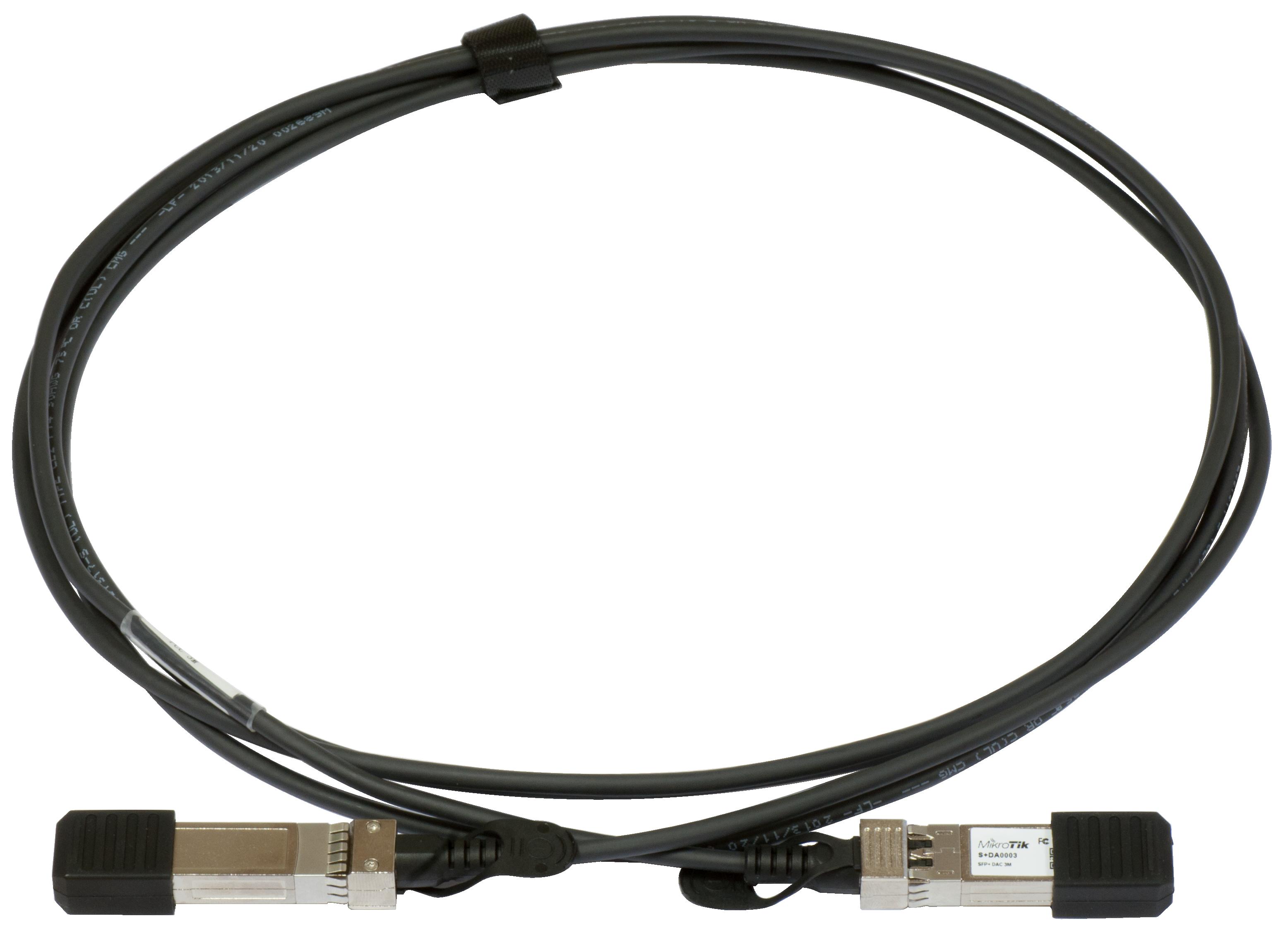 mikrotik sfp 3m direct attach cable. Black Bedroom Furniture Sets. Home Design Ideas