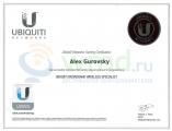 Алексей Гуровский - Сертифицированный специалист UBWS